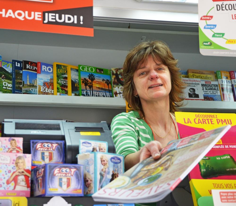 Kiosque à journaux Tours